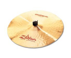 "ZILDJIAN FX Oriental Crash of Doom 20"", Thin, traditional"