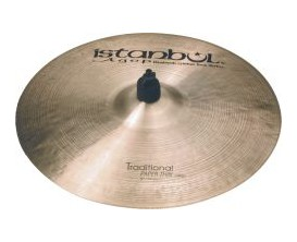 """ISTANBUL THC17 - Cymbale Crash Thin 17"""", Série Traditional"""
