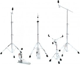 PEARL HWP-830 - Pack Hardware Série 830 (BC-830 Boom Cymbal Stand + C-830 Straight Cymbal Stand + H-830 Hi-Hat Stand + S-830 Sna
