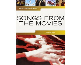 Really Easy Piano - Songs From The Movies - 16 Film Hits - Wise Publications