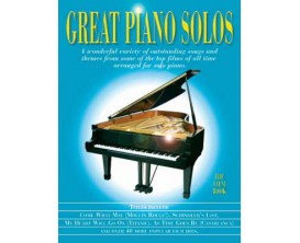 Great Piano Solos - The Film Book - Wise Publications