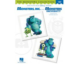 Monsters, INC and Monsters University Original Scores (Piano Solos) - Randy Newman - Hal Leonard