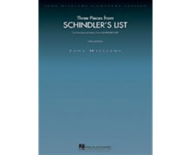 Three Pieces from Schindler's List (Violin and Piano) - John Williams - Hal Leonard