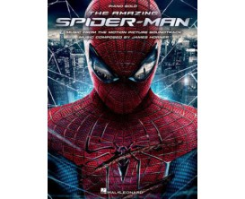 The Amazing Spiderman Music from the Motion Soundtrack (Piano Solo) - J. Horner - Hal Leonard