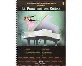 Le Piano Fait Son Cinéma Vol. 1 - B. Quoniam et V. Charrier - Ed. Lemoine