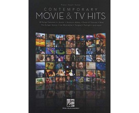 Contemporary Movie & TV Hits (Piano, Vocal, Guitar) - Hal Leonard