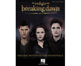 LIBRAIRIE - Breaking Dawn part 2 - The Twilight Saga - Hal Leonard