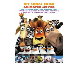 Hit Songs from Animated Movies (Piano, voix, guitare) - Wise Publications