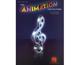 The Animation Collection Over 60 Songs from TV and the Movies (Piano, vocal guitar) - Hal Leonard