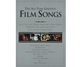The All-Time Greatest Film Songs (Piano, Voice & Guitar) - Wise Publications