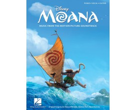 Disney Moana - Music from the Motion Picture Soundtrack (Piano, Vocal, Guitar) - Hal Leonard