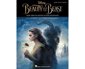Disney Beauty and the Beast Music from the Motion Picture Soundtrack (Piano, Vocal, Guitar) - Hal Leonard