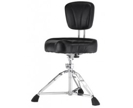 PEARL D-2500BR - Backrest Drummer Throne, Motorcycle Type Seat