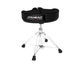 AHEAD Spinal G Throne BK - Siège de batterie avec assise ergonomique, mousse à mémoire de forme, Noir