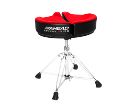 AHEAD Spinal G Throne RD - Siège de batterie avec assise ergonomique, mousse à mémoire de forme, Rouge