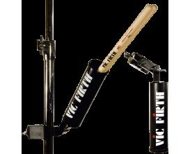 VIC FIRTH CADDY - Etui à baguettes en acier sur clamp