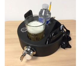 BRITISH DRUM CO. BDA-JB10 - Support Joe's Butler pour boissons, portefeuille et smartphone avec coquille de tom