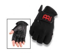 MEINL MDGFL-M Paire de gants noirs sans doigts pour batteur - Taille M