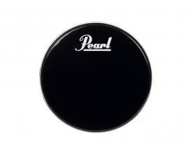"""PEARL PTH-20PL - Peau résonance GC 20"""" Black, Perimeter EQ, avec Logo"""