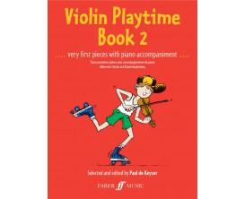 Violin Playtime Book 2, P. de Keyser - Faber Music