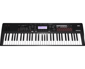 KORG KROSS2 61 MB - Music Workstation 61 notes, noir mat