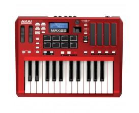 AKAI MAX25 - Clavier maître / contrôleur USB/MIDI/CV - 25 Touches*