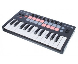 NOVATION Launchkey Mini MKII - Mini Clavier USB 25 touches Mark II (seconde édition)