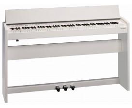 ROLAND F-140R WH - Piano Meuble Numérique, blanc mat