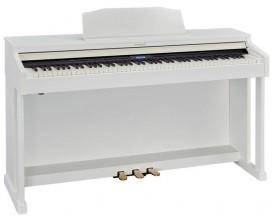ROLAND HP601-WH - Piano meuble numérique, Blanc Contemporain (mat)