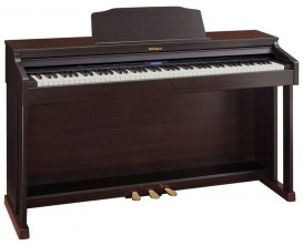 ROLAND HP601-CR - Piano meuble numérique, Palissandre Contemporain (mat)