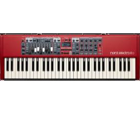 NORD NE6D-61 - Electro 6D, Clavier de scène 61 notes waterfall semi-lestées