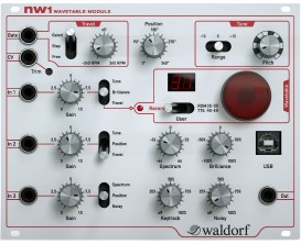 WALDORF NW1 - Module Wavetable