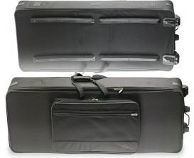 STAGG KTC-145 XD - Softcase clavier à roulettes, 143x53x18