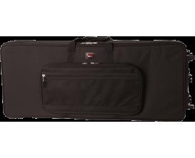 GATOR GK-88-Slim - Etui Softcase léger pour clavier 88 Notes, avec roulettes, version slim