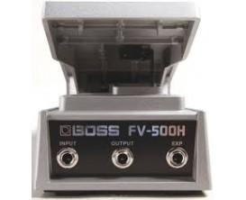 BOSS FV-500L Stereo volume + expression pedal (low impedance)