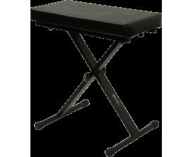 RTX KBX - Banquette piano, Hauteur réglable de 55 à 68 cm, noir