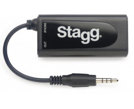 STAGG GB2IP 10 - Adaptateur guitare/ basse pour iPhone/ iPad