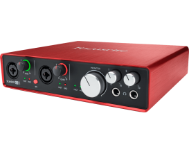 FOCUSRITE Scarlett 2 6i6 - Interface audio 6 in / 6 out (Inclus Pro Tools First et 12 Plugins)