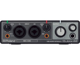 ROLAND Rubix22. Carte son 2in/2out
