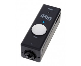 IK MULTIMEDIA iRig Pro - Interface avec préampli micro pour iPhone, iPad, iPod Touch, Mac