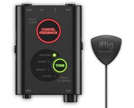 IK MULTIMEDIA iRig Acoustic Stage - Interface micro pour instrument acoustique. DSP intégré pour utilisation live