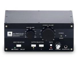 JBL M-PATCH 2 Contrôleur de volume et sélection de monitoring *