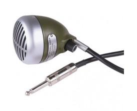 "SHURE 520DX - Micro Harmonica ""Green Bullet"", avec volume réglable"