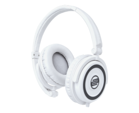 RELOOP RHP-5 LTD - Casque DJ fermé compact, Finition Blanc LTD