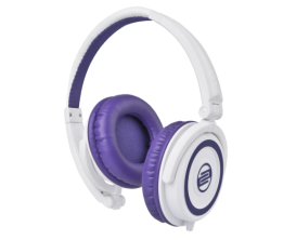 RELOOP RHP-5 Purple Milk - Casque DJ fermé compact, Finition Purple Milk**