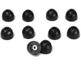 SHURE EABKF-1-10L- Embouts de remplacement pour casque intra, taille L (10 pièces)