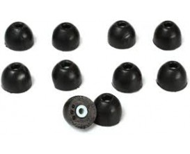 SHURE EABKF-1-10S- Embouts de remplacement pour casque intra, taille S (10 pièces)