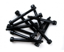 FENDER 1997013049 - Floyd Rose® Original String Lock Screws, Black (12)