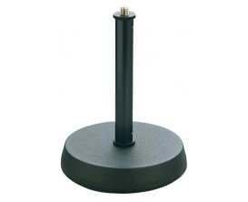 K&M 23200 - Pied de Micro de Table Noir