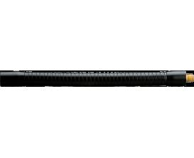 "K&M 225 BLK - Raccord micro col de cygne (gooseneck), 200 mm, Ø 15 mm, 3/8"""